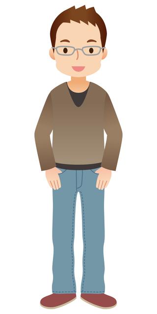 64歳男性イメージの画像