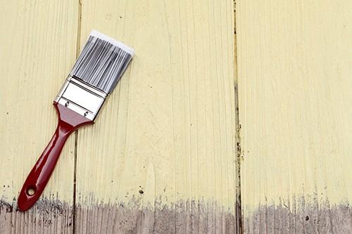 壁に塗られるシリコン塗料